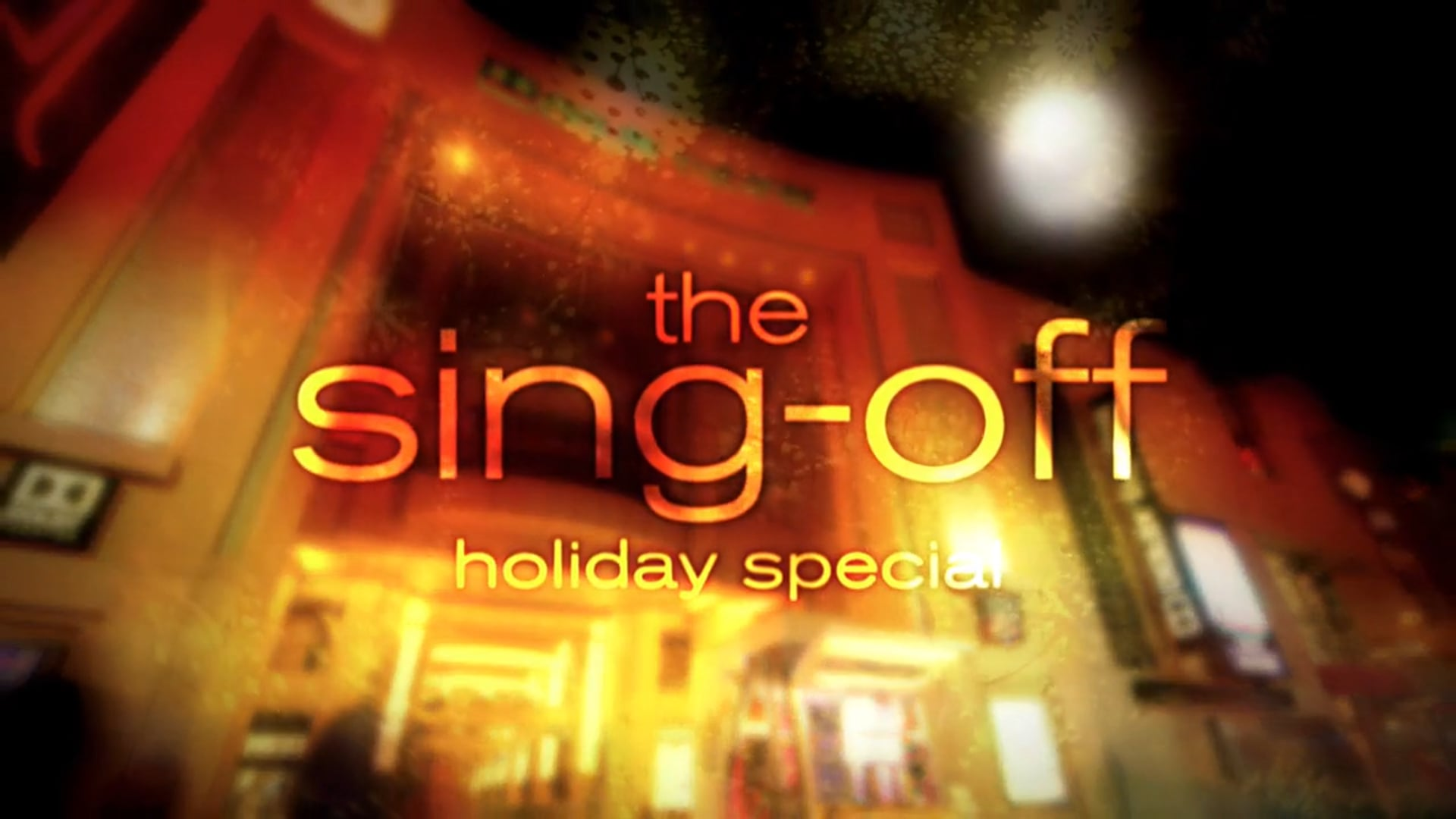 Sing Off Holiday Special