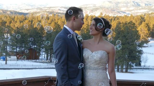 Valentine's Day Snowy Celebration, Pagosa Springs CO - Wedding Highlights