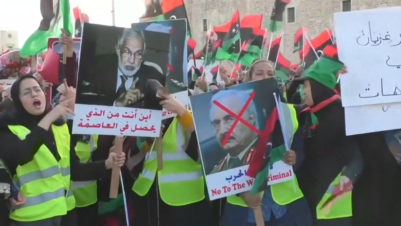CGTN IN LIBYA - APRIL 2019 - TRUMP PHONE CALL