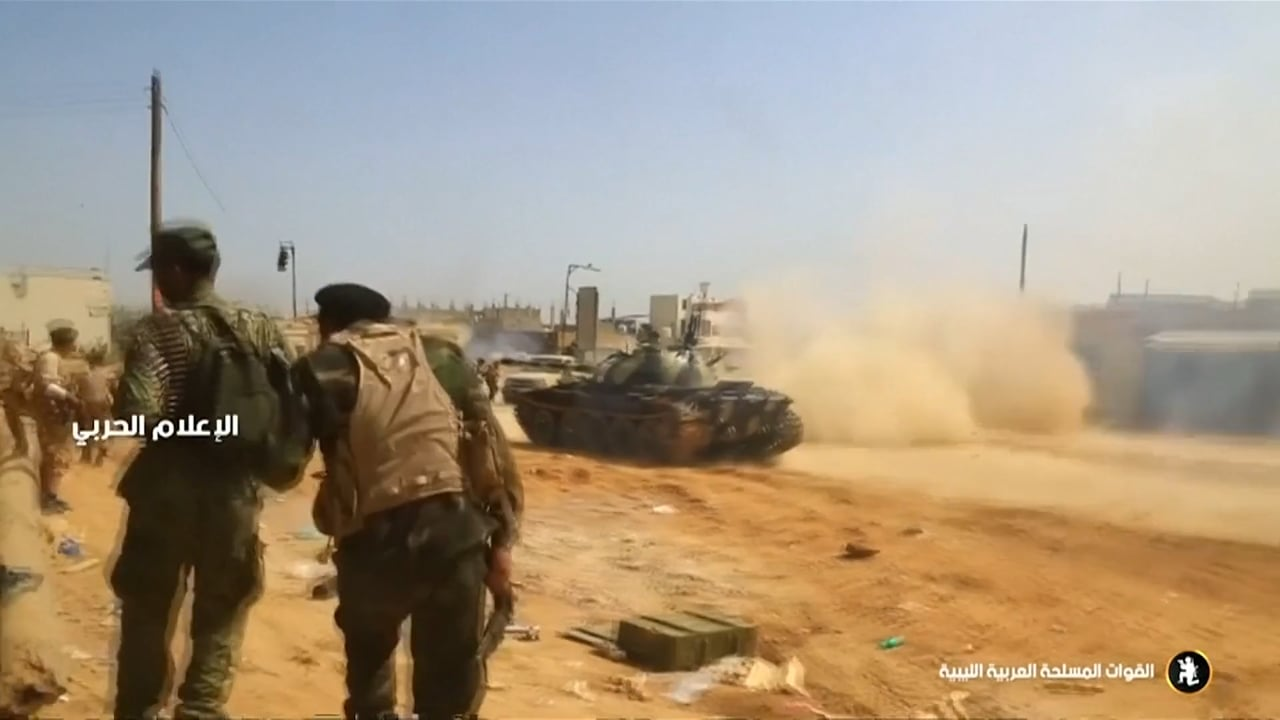 CGTN IN LIBYA - APRIL 2019 - THE VIEW FROM BENGHAZI