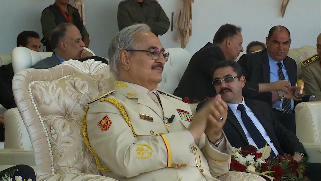 CGTN in Libya - April 2019 - Hiftar's Army