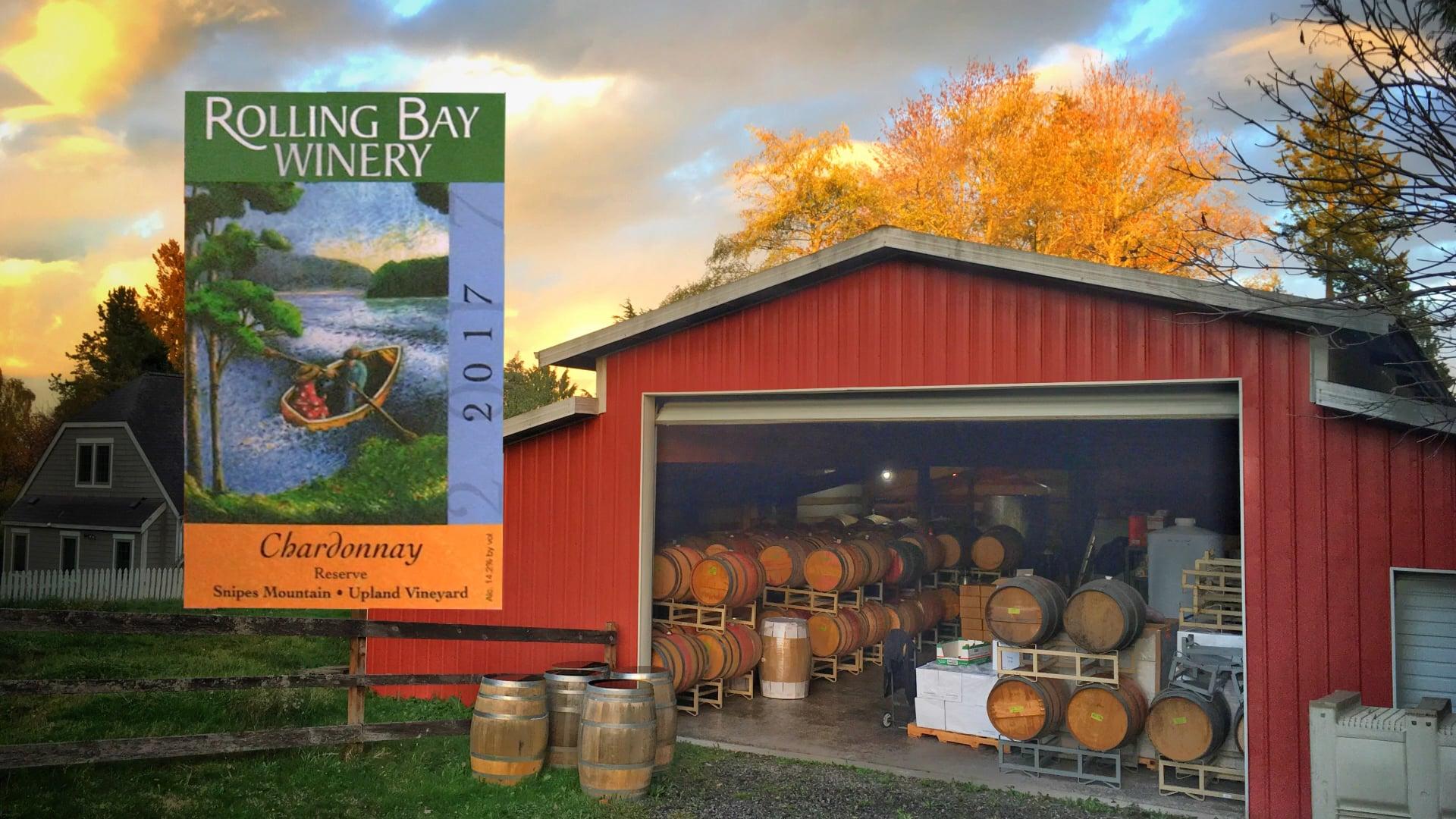 Rolling Bay Winery / Chardonnay Bottling