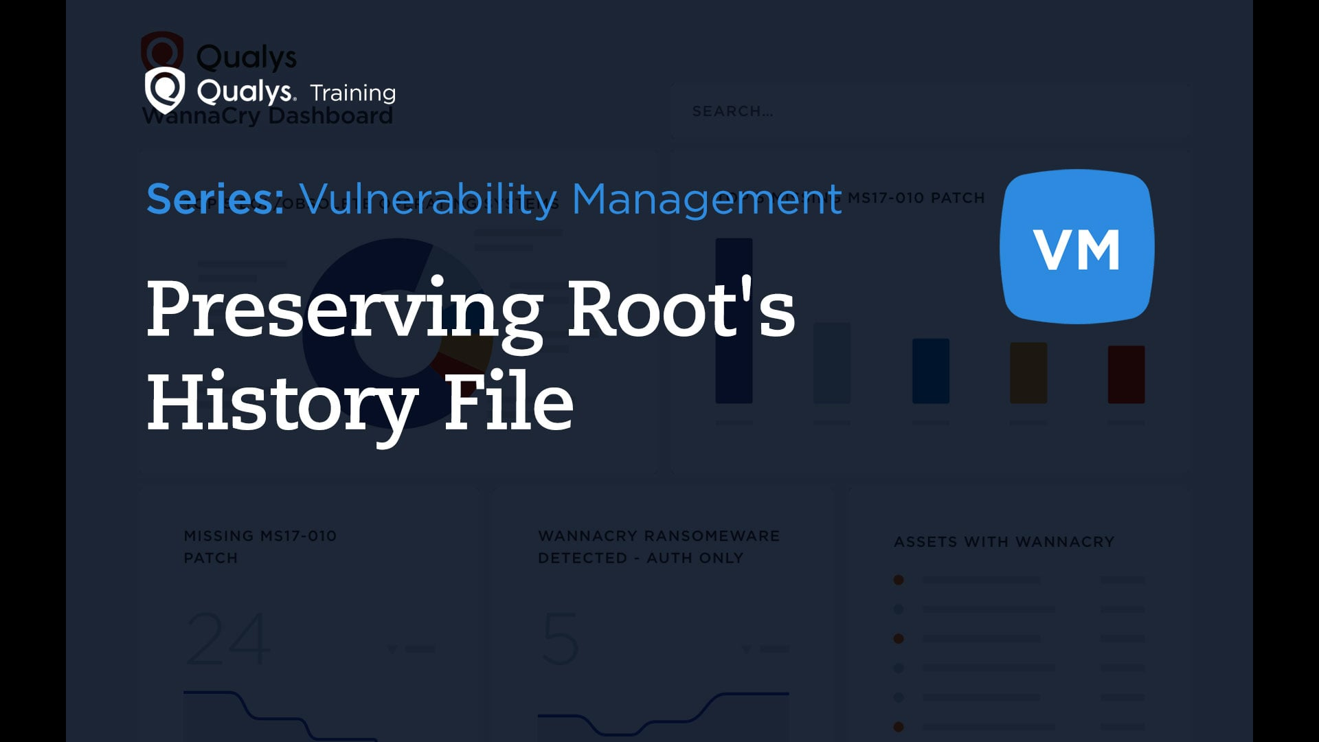 Preserving Root's History File