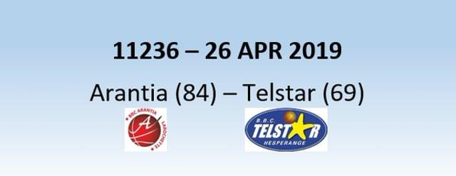 N1H 11236 Arantia Larochette (84) - Telstar Hesperange (69) 26/04/2019