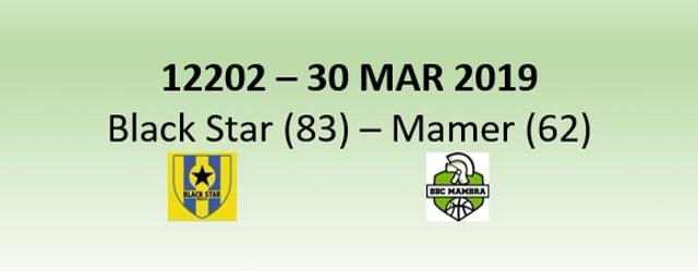 N2H 12202 Black Star Mersch (83) - Mambra Mamer (62) 30/03/2019