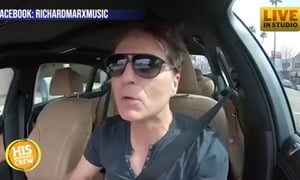 Singer Richard Marx Jamming Out in His Car to The Afters