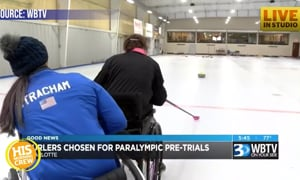 Local Wheelchair Curlers Could Be Heading to Nationals