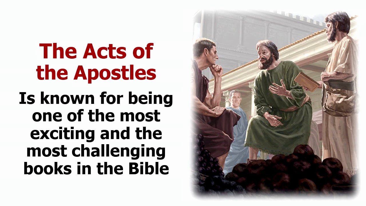 Introduction and Overview of the Book of Acts