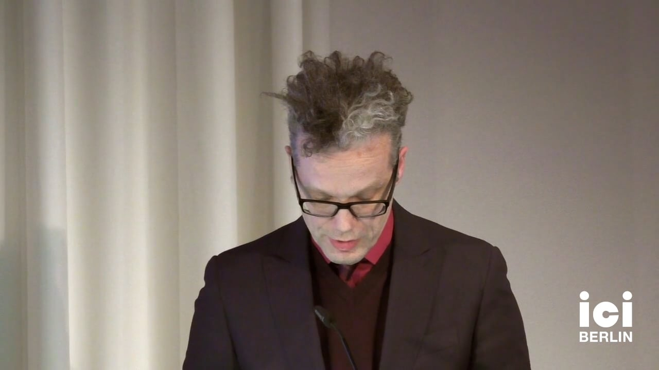 Introduction by Arnd Wedemeyer