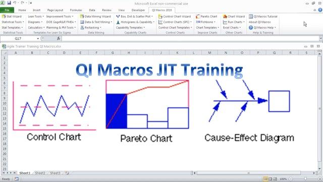 QI Macros Agile Just-In-Time Training