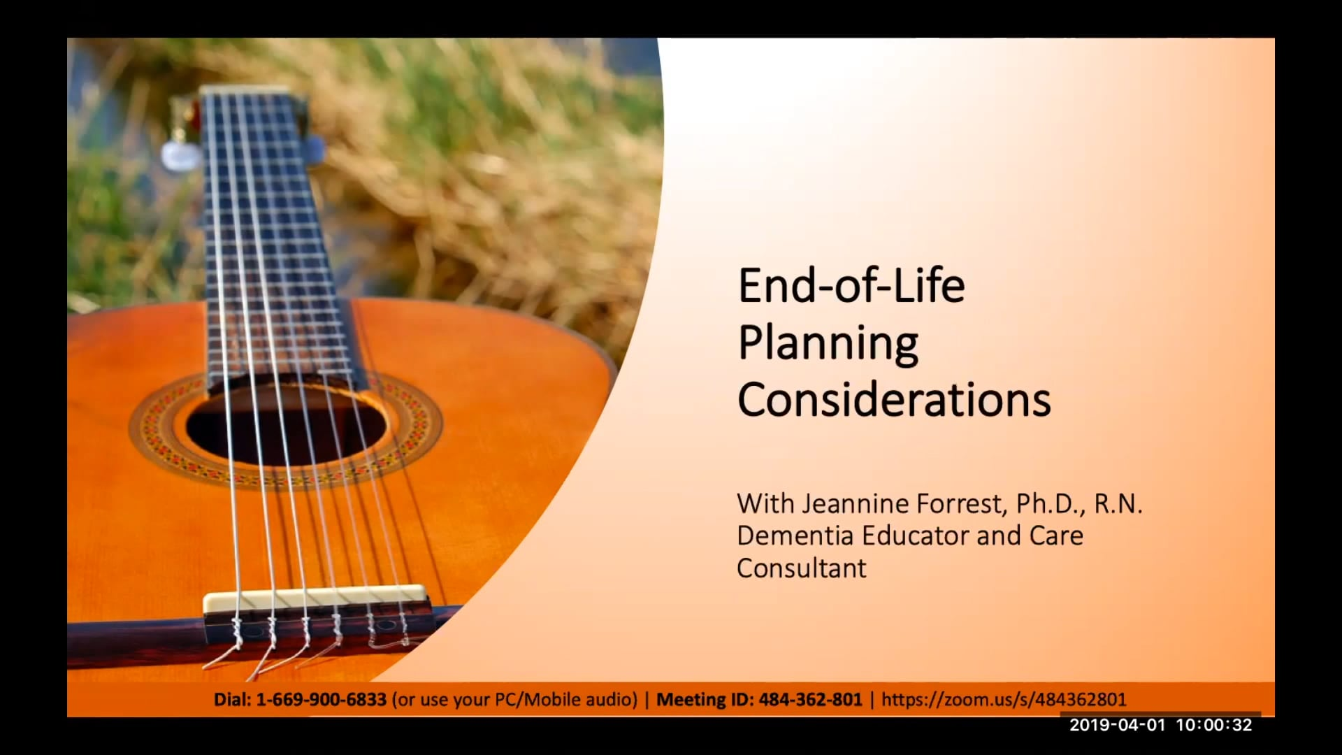 End-of-Life Planning Considerations