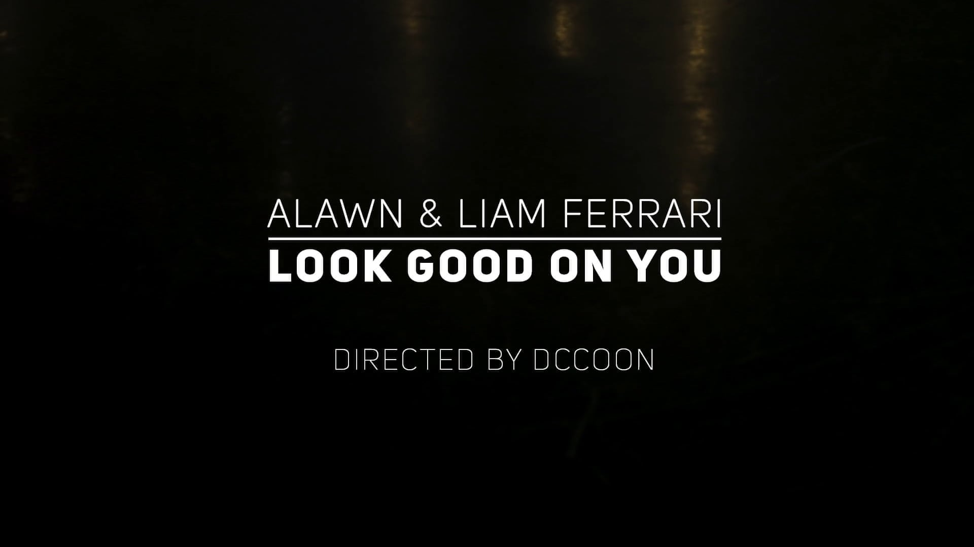 I look Good on you