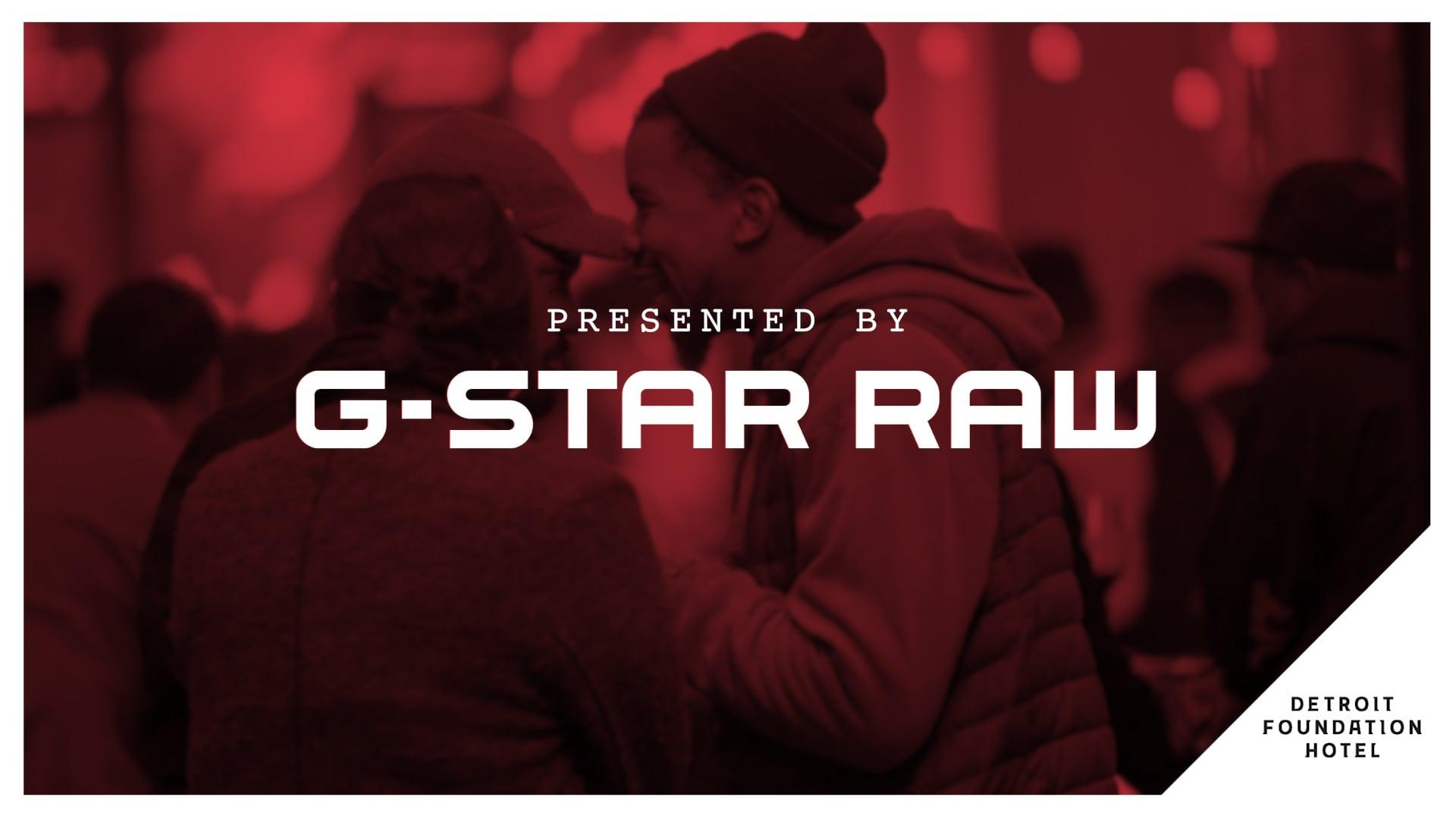 G-STAR RAW presents Foundation After Dark