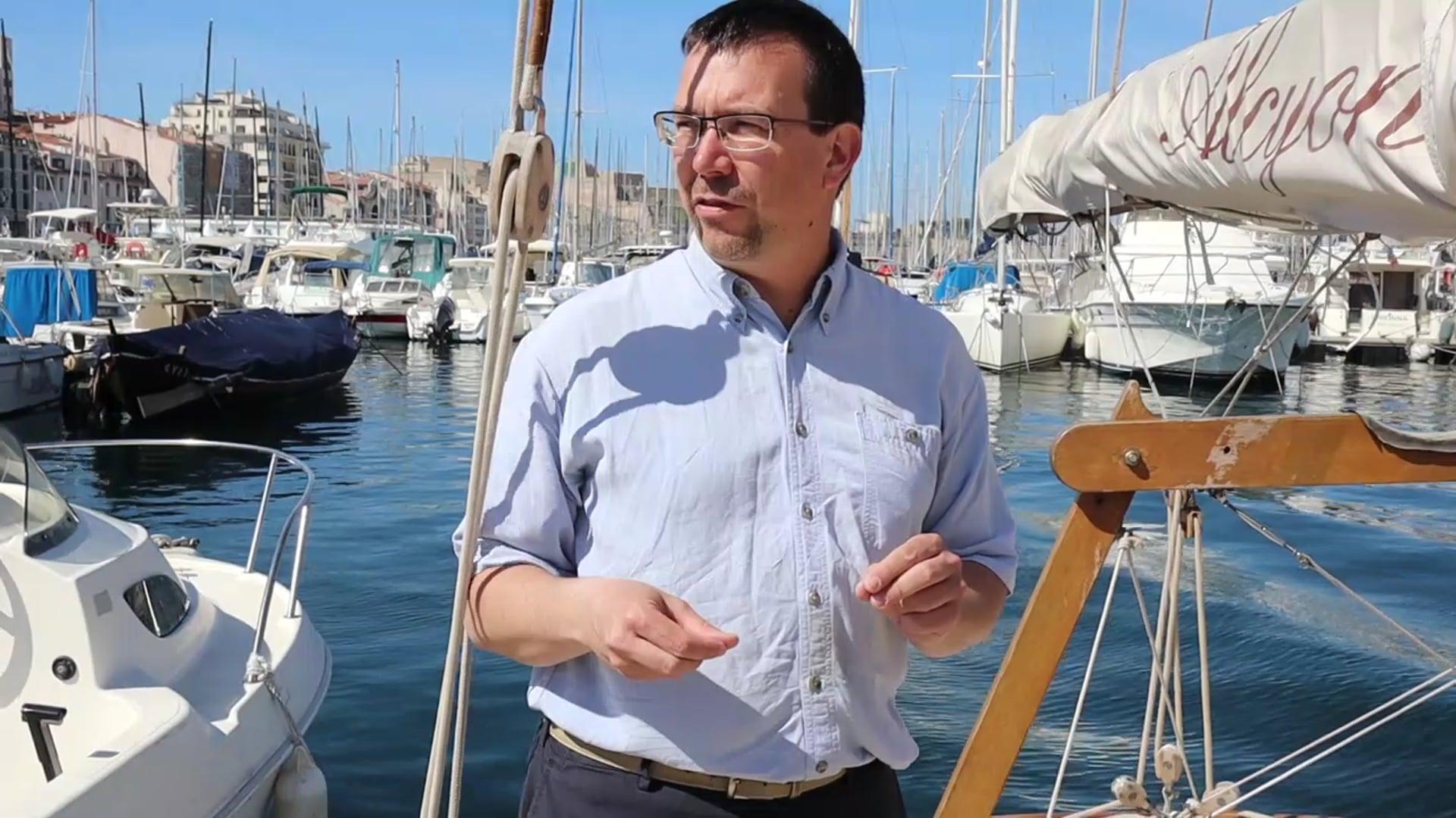 90 secondes avec Nicolas Imbert - Voiles de l'Energie et de l'Environnement