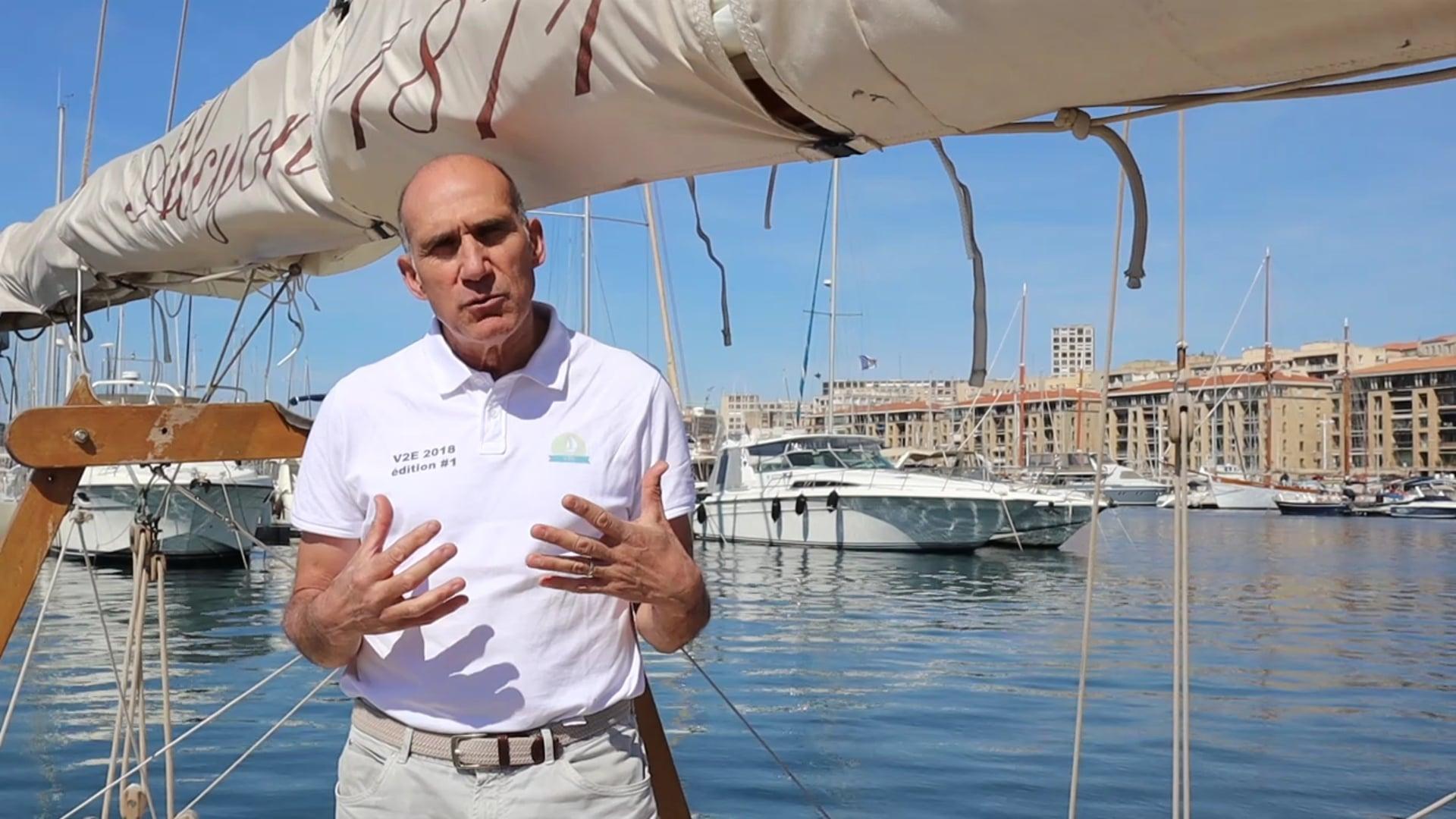 90 secondes avec Georges Seimandi - Voiles de l'Energie et de l'Environnement
