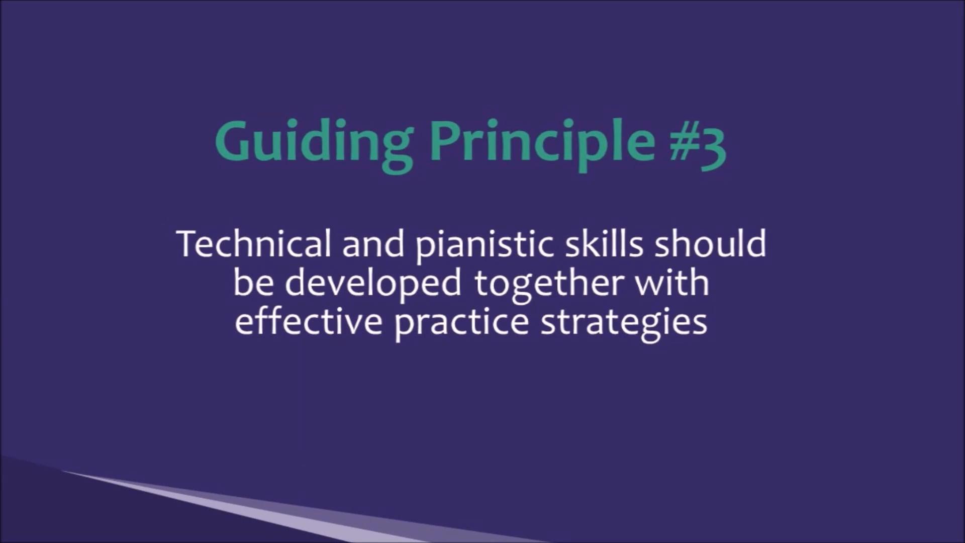 PTC - Piano Teaching for the 21st Century #3