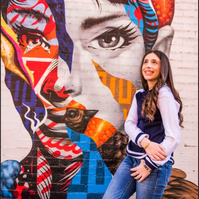 Dylan's Graffiti Bat Mitzvah Portraits