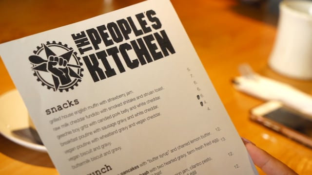 Peoples Kitchen is Open - Grand Opening Video