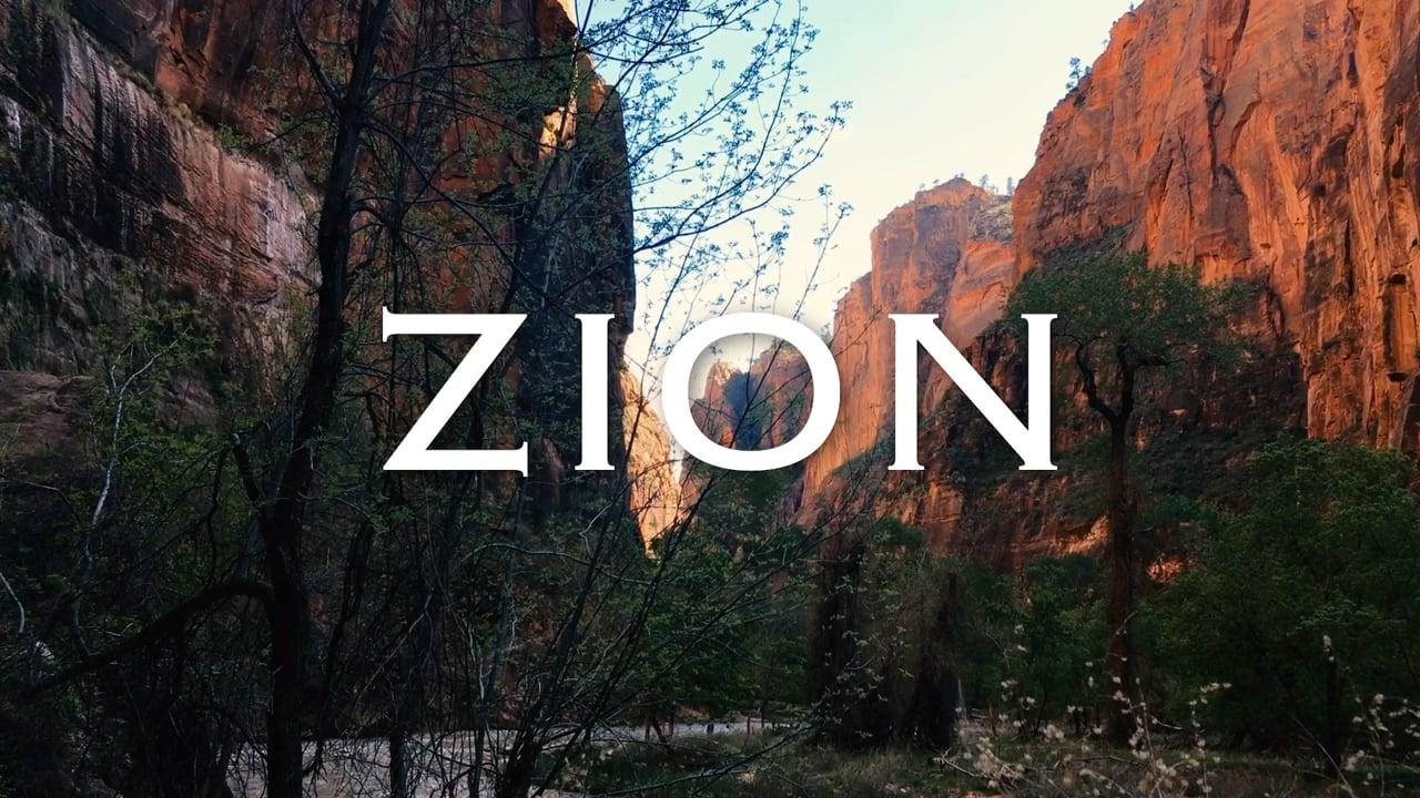 ZION National Park Timelapse