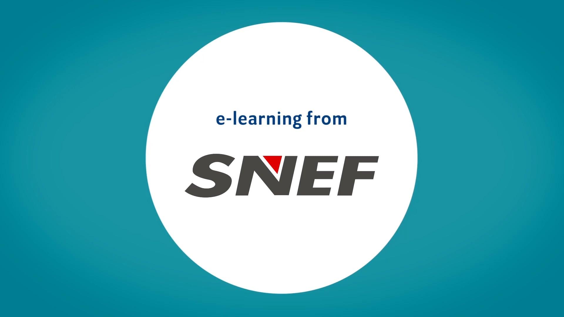 SNEF e-learning video