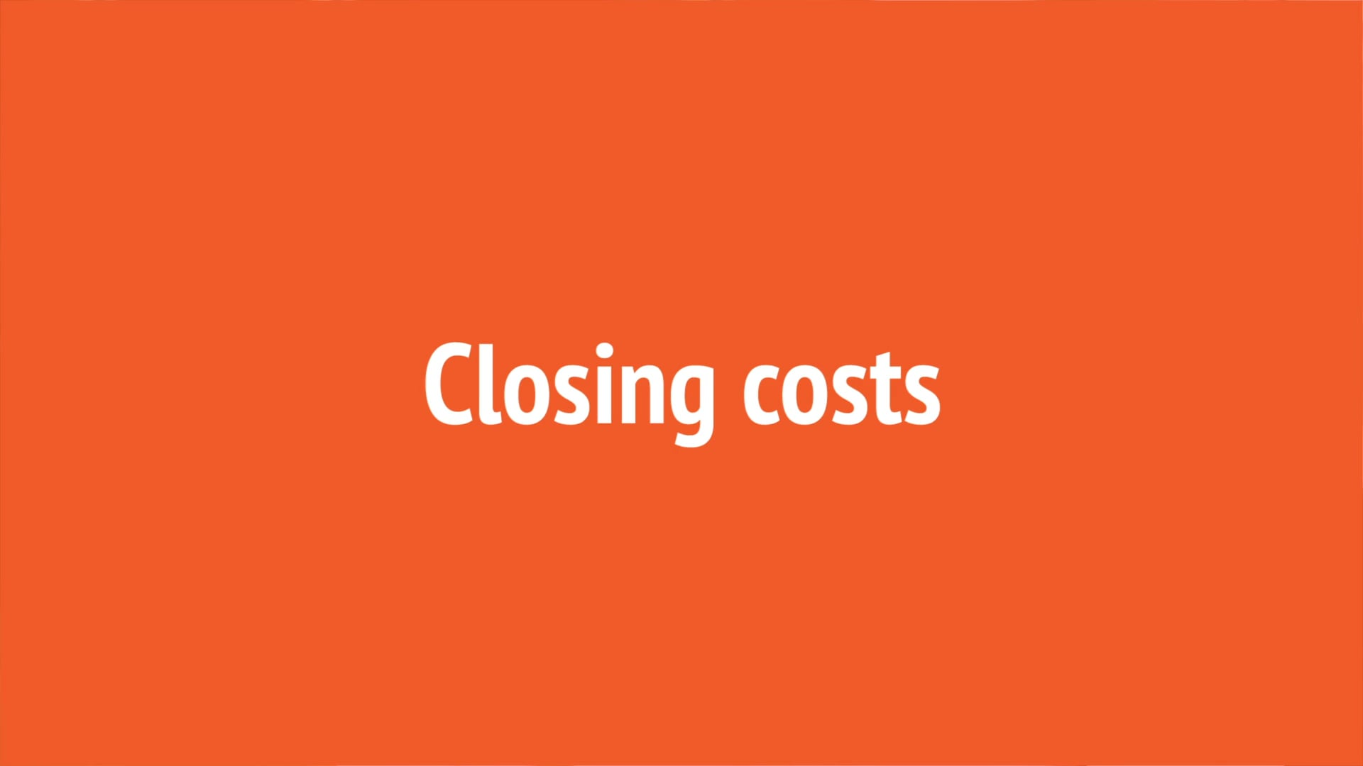 Title Answers - Ep. 6. - Closing Costs