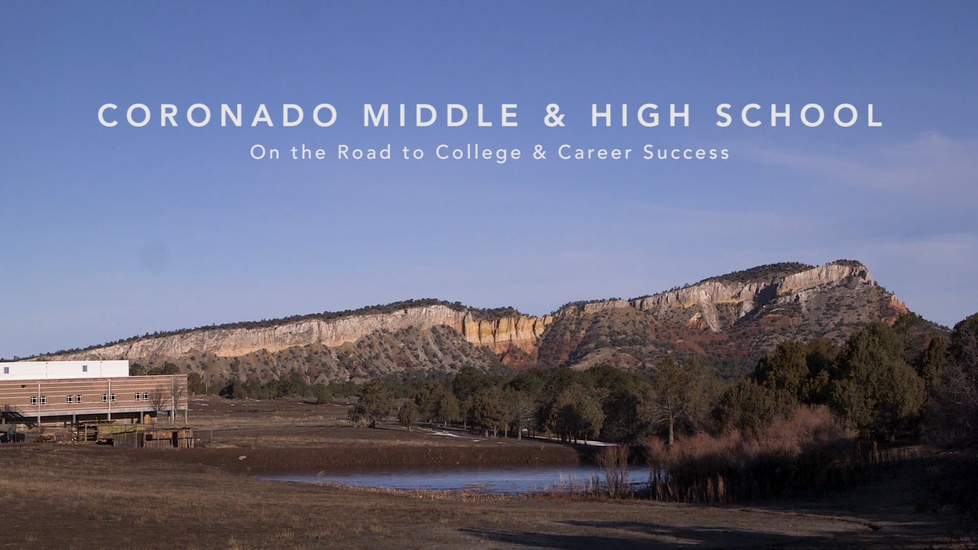 Coronado Middle & High School: On the Road to College & Career Success