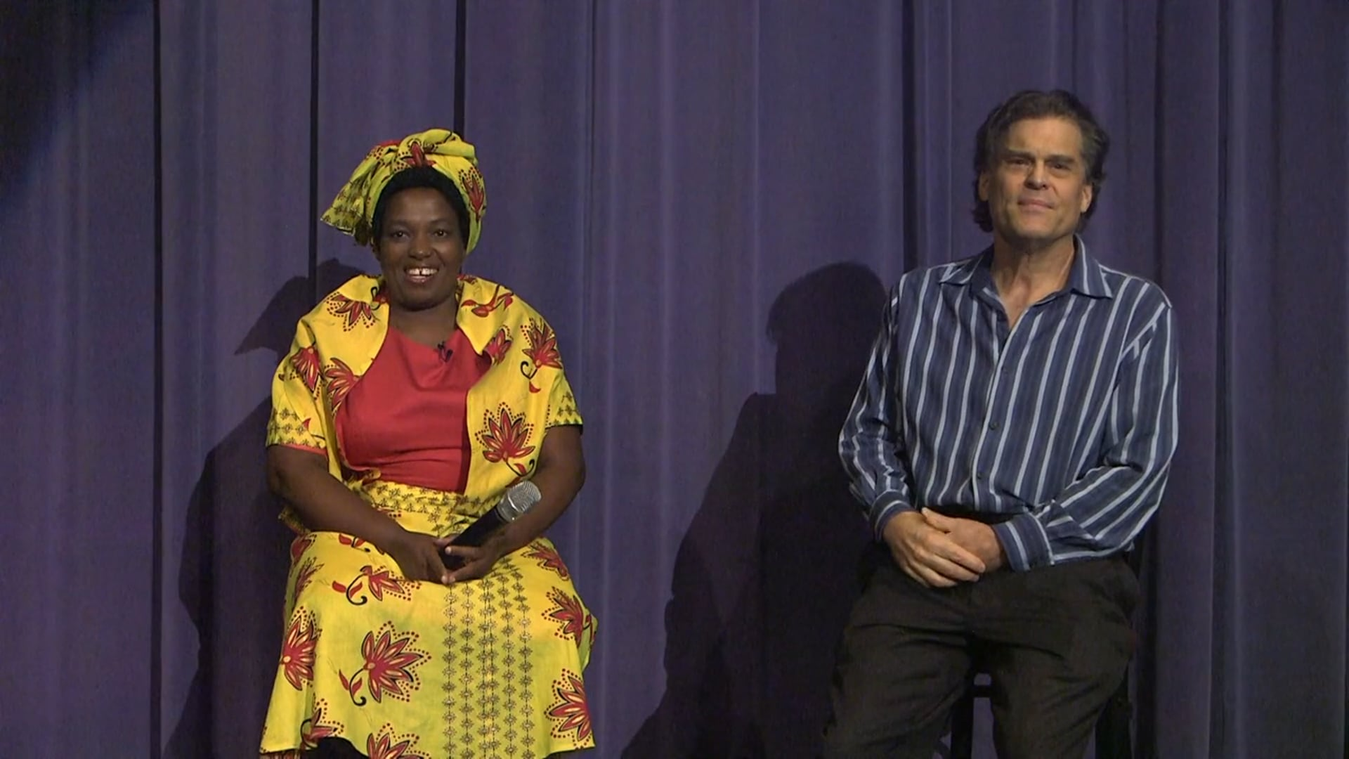 Interview with Mrs. Zikhali after film private screening