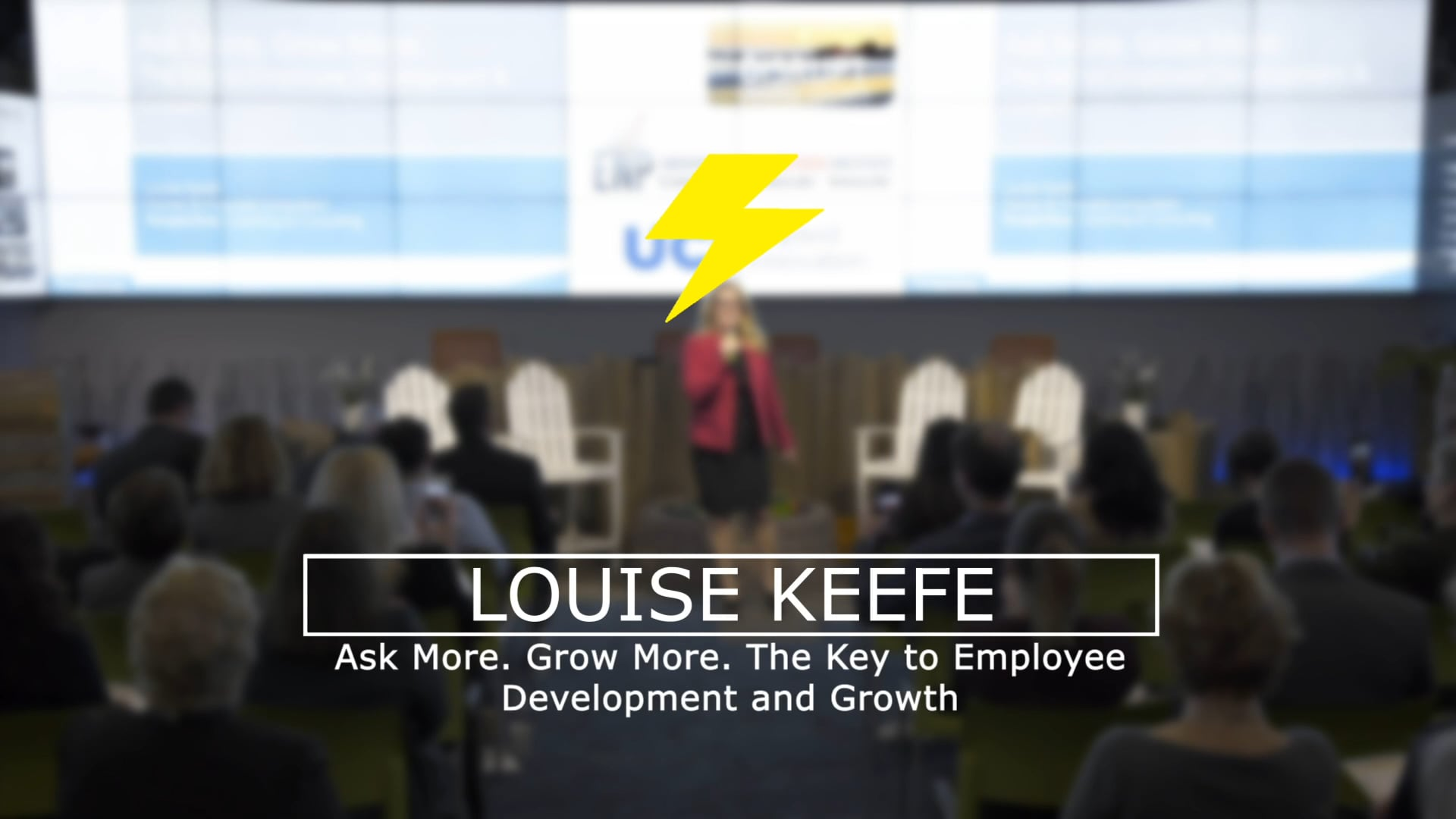 Ask More. Grow More. The Key To Employee Development & Growth | Louise Keefe | DisruptHR Talks