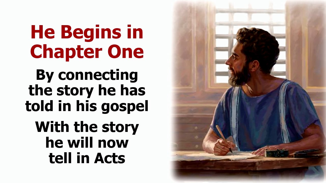 Acts 1: The Ascension