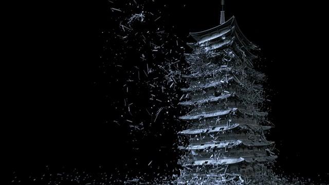 Dragon Collapse   VFX