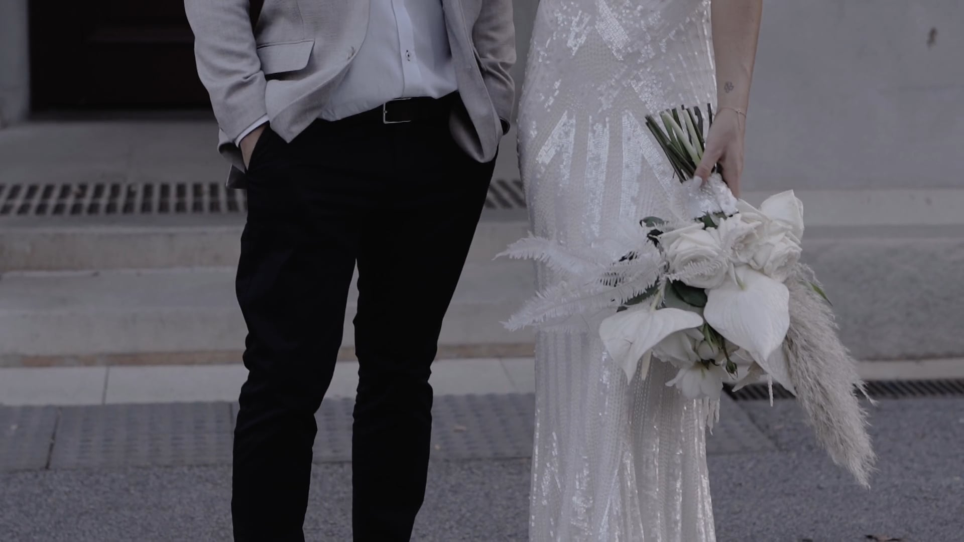 B + J // CITY WEDDING