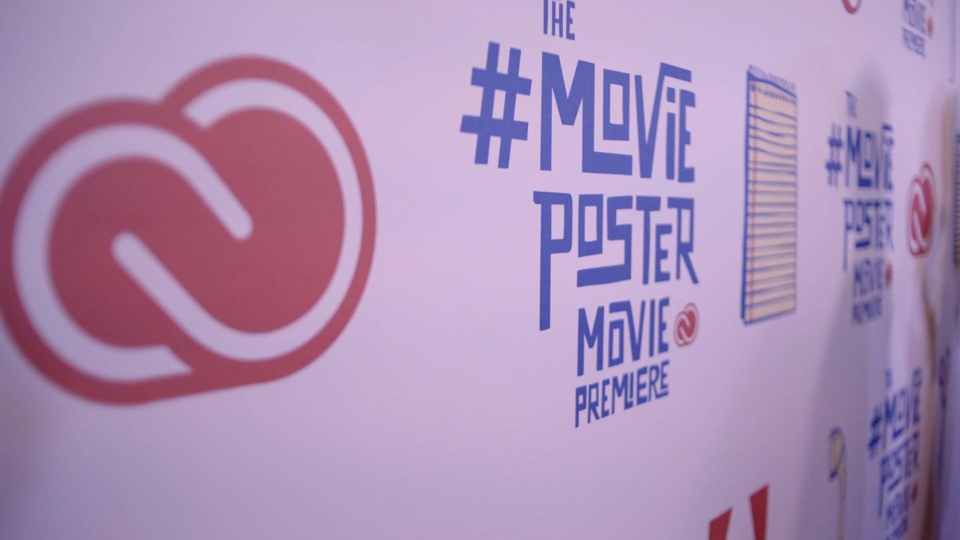 Triggerhouse x Adobe: Movie Poster Movie Premiere