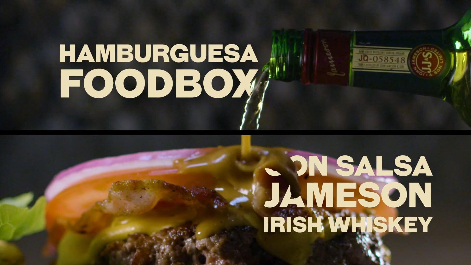 Jameson & Foodbox - Jameson Burger