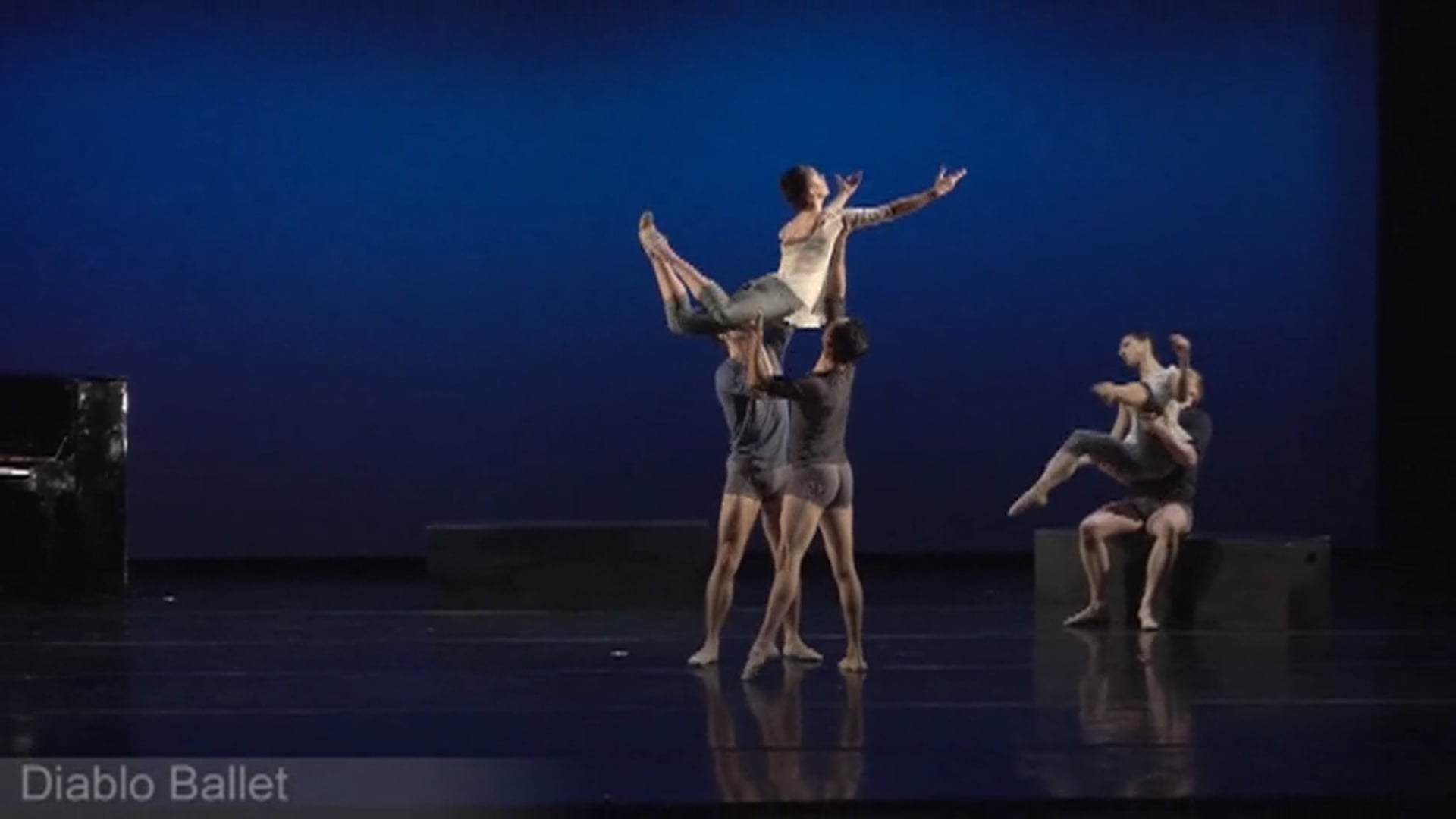"""Diablo Ballet  2-1-2019 8:00 PM - """"From Another Time"""" Choreography: Tina Kay Bohnstedt, Composer: Justin Levitt"""