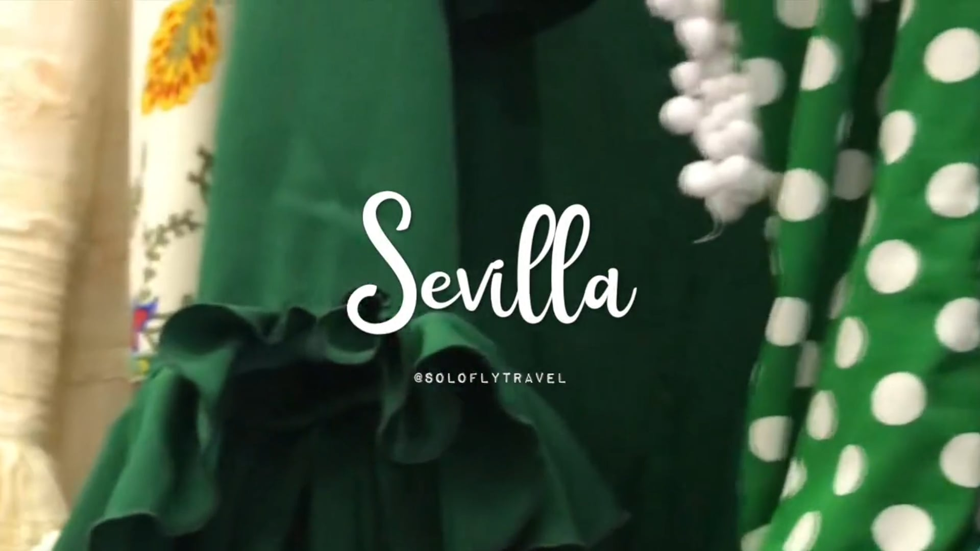 Solo Fly's trip to Sevilla!