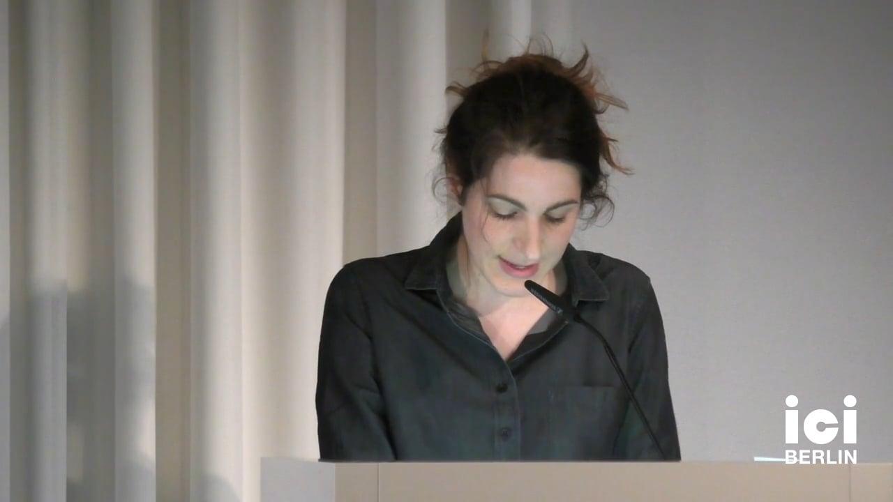 Talk by Marie Kolkenbrock