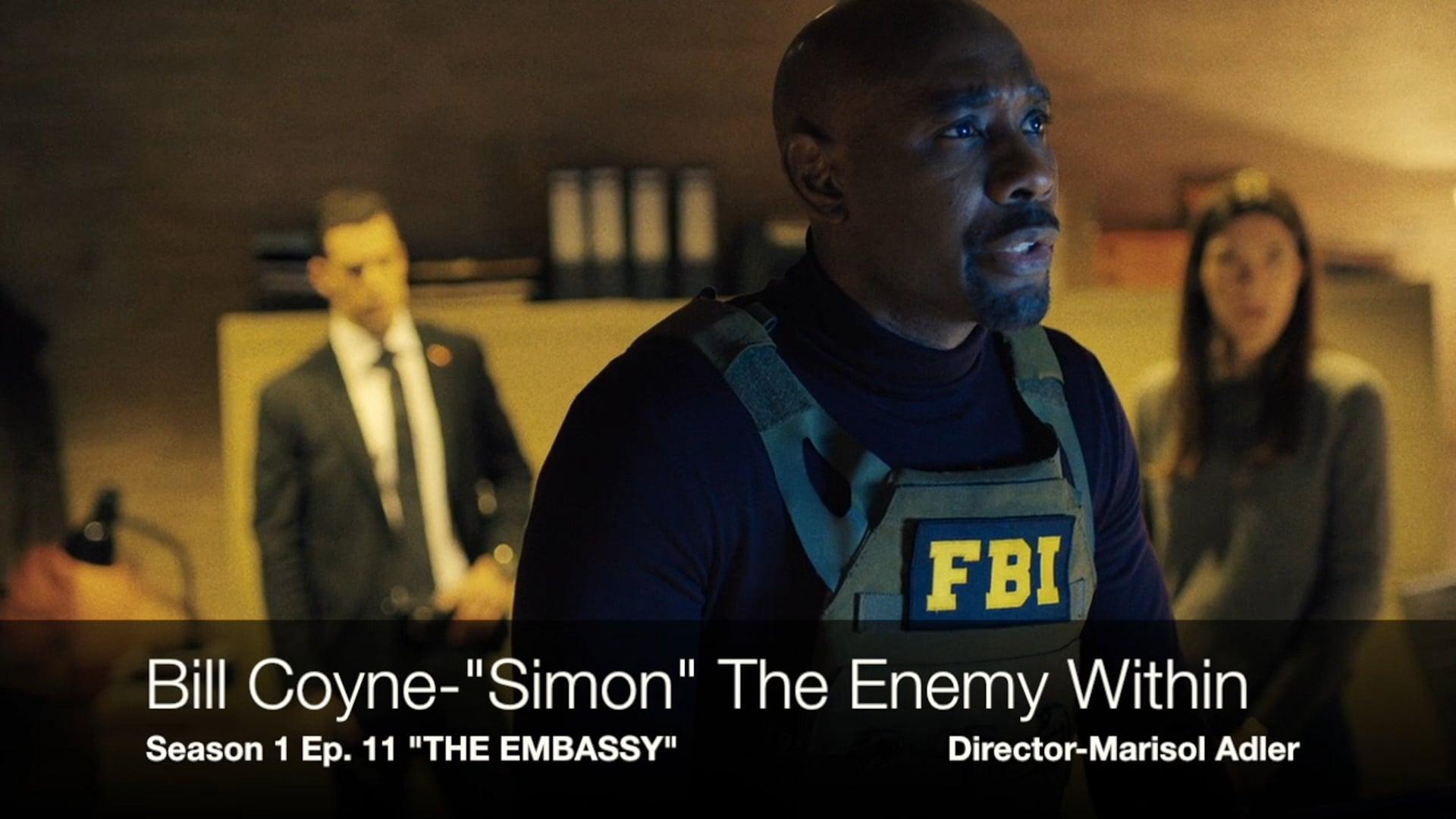 """THE ENEMY WITHIN - """"Simon"""""""