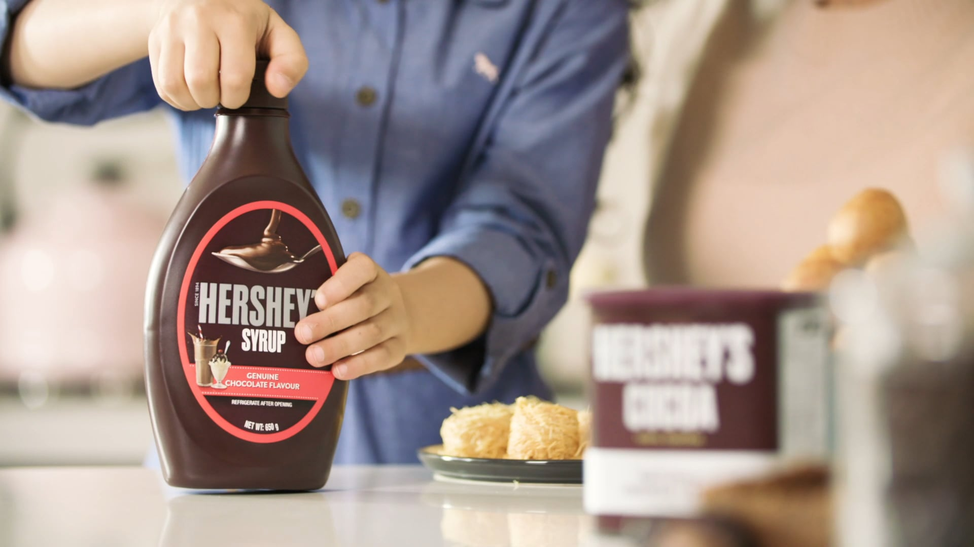 Kitchen Quality Time - Hershey's