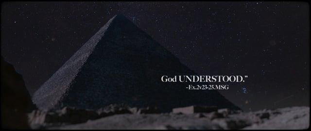 GOD UNDERSTOOD (Good Friday opener)