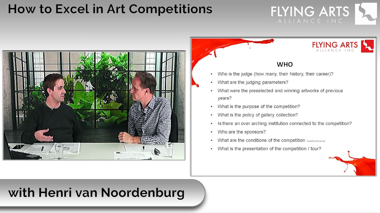 How to Excel in Art Competitions