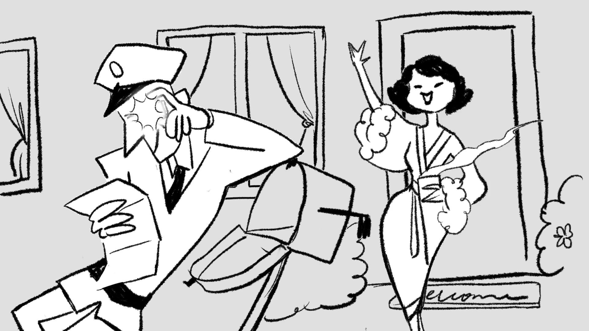 The Intrusive Mailman | Animatic