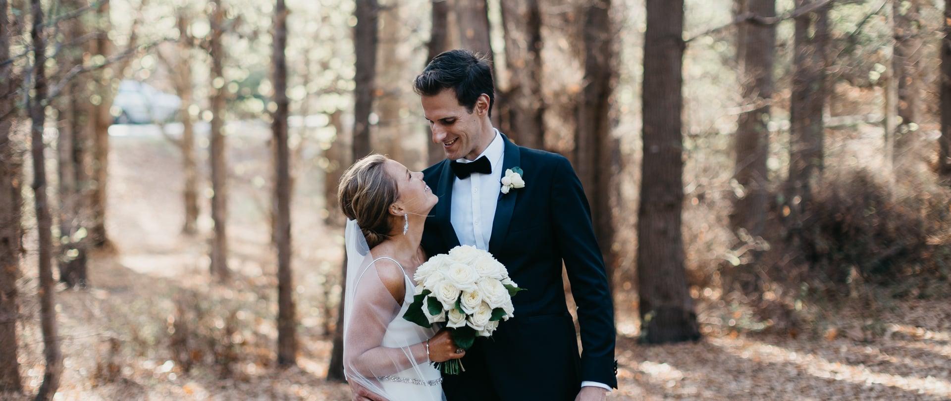 Sarah & Oli Wedding Video Filmed at Mornington Peninsula, Victoria