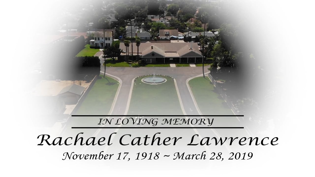 Rachael Cather Lawrence Memorial