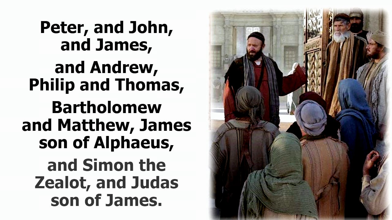 Acts 1: Judas Replaced and a Snapshot of the Early Church