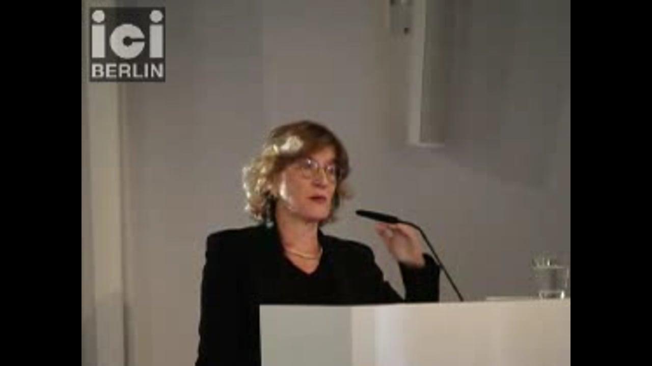 Introduction by Christina von Braun