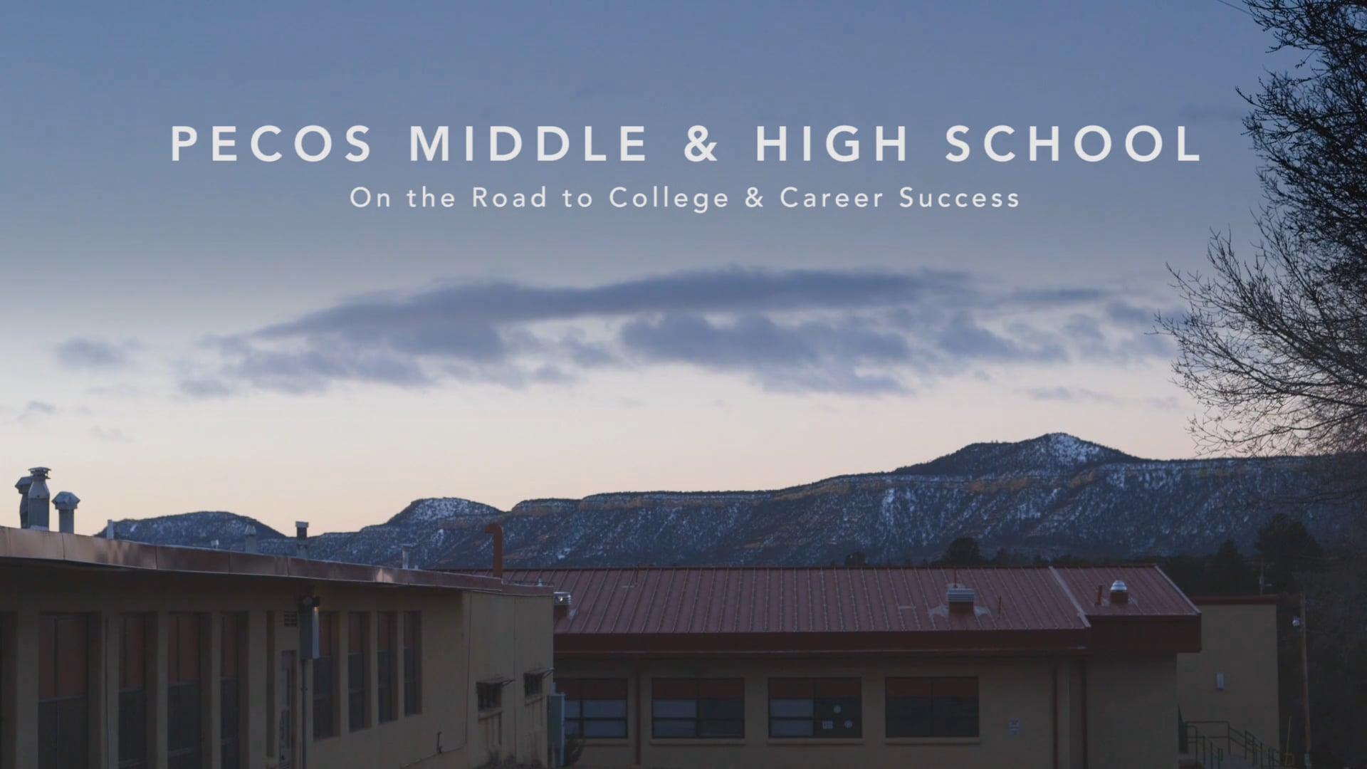 Pecos Middle & High School: On the Road to College & Career Success