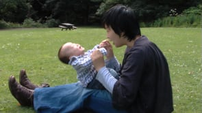 Watch Babies Outdoors - Ko plays in the park