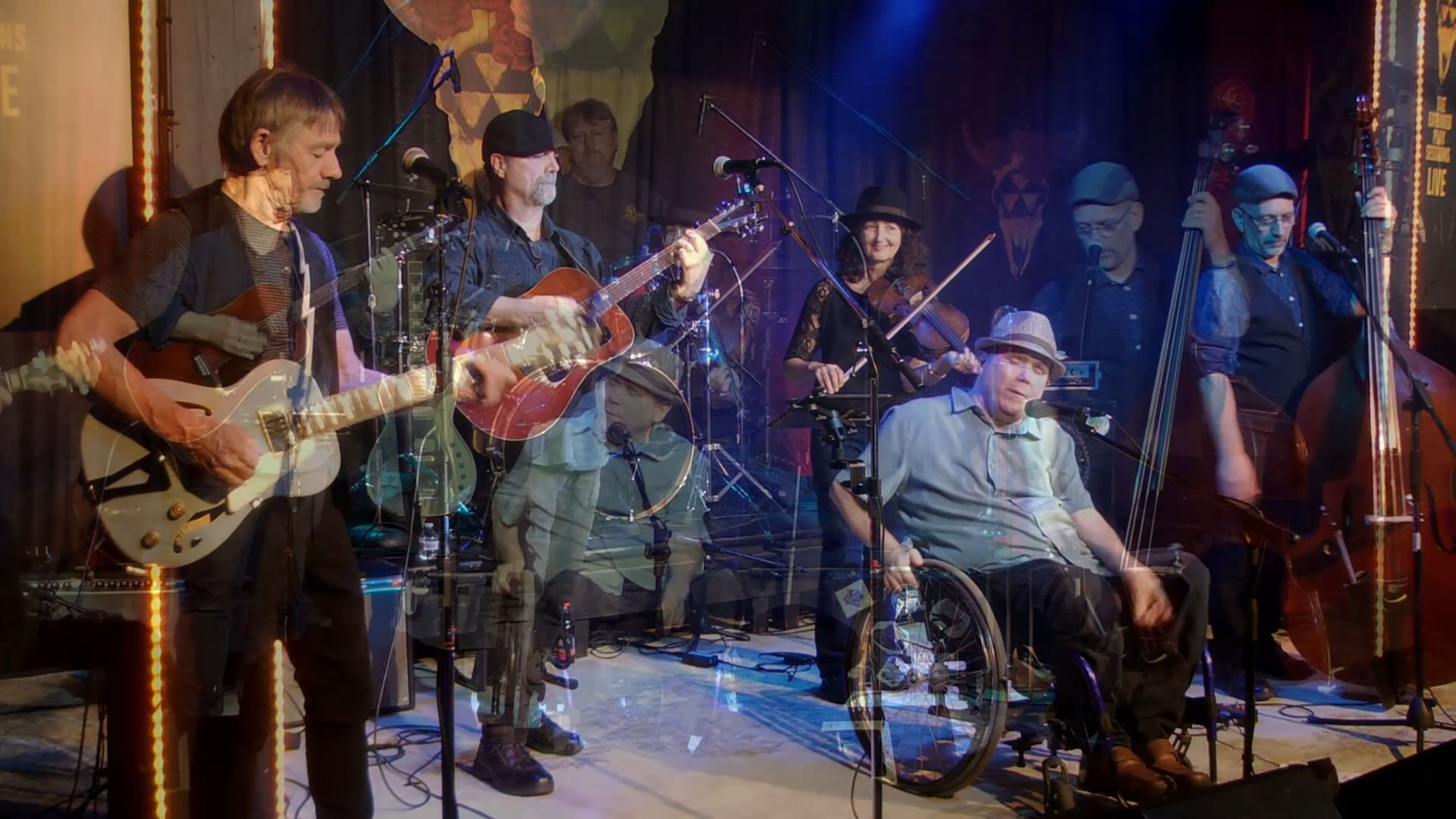 'Livin With the Blues' - Durham County Poets - from The Extended Play Sessions