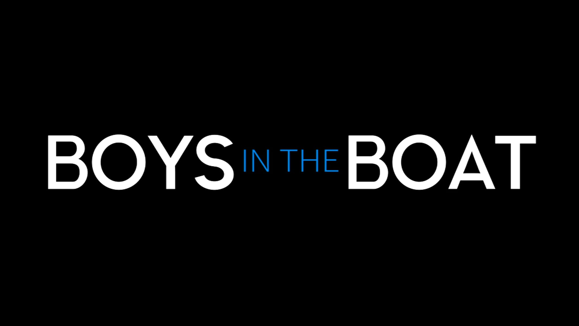 Boys In The Boat Official Trailer