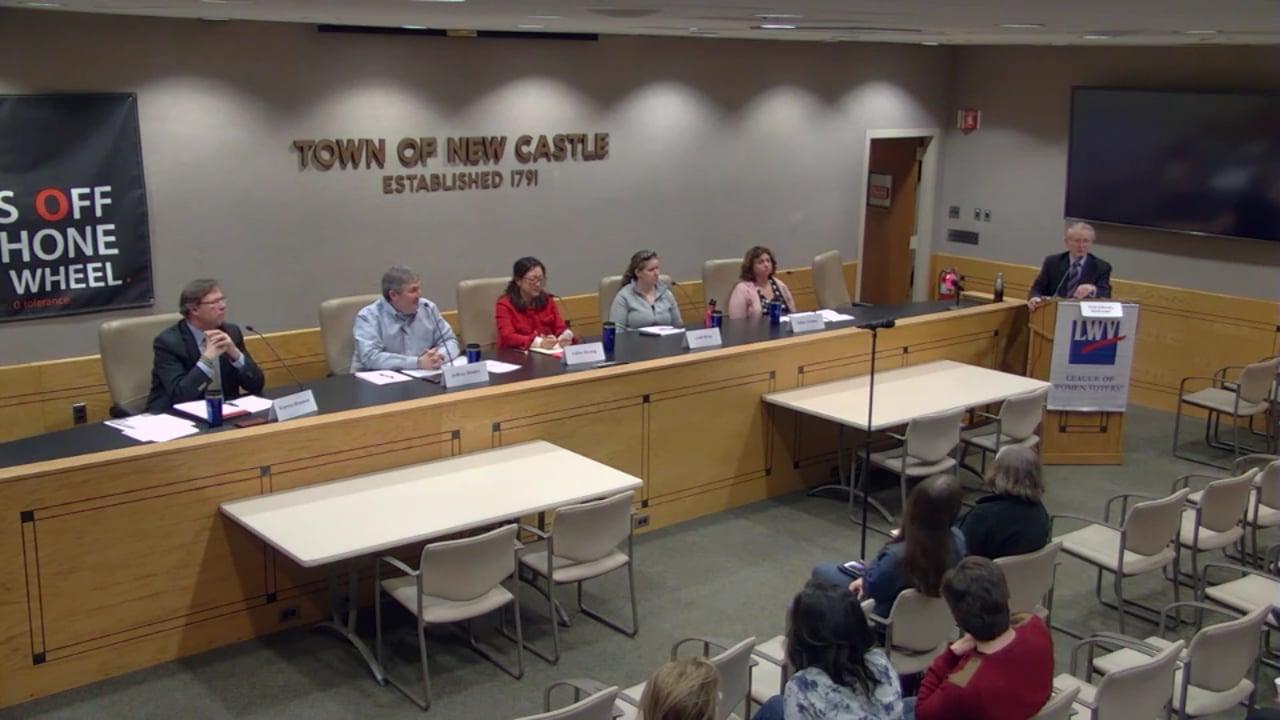 LWV Candidates' Night CCSD Board of Education 5/13/19